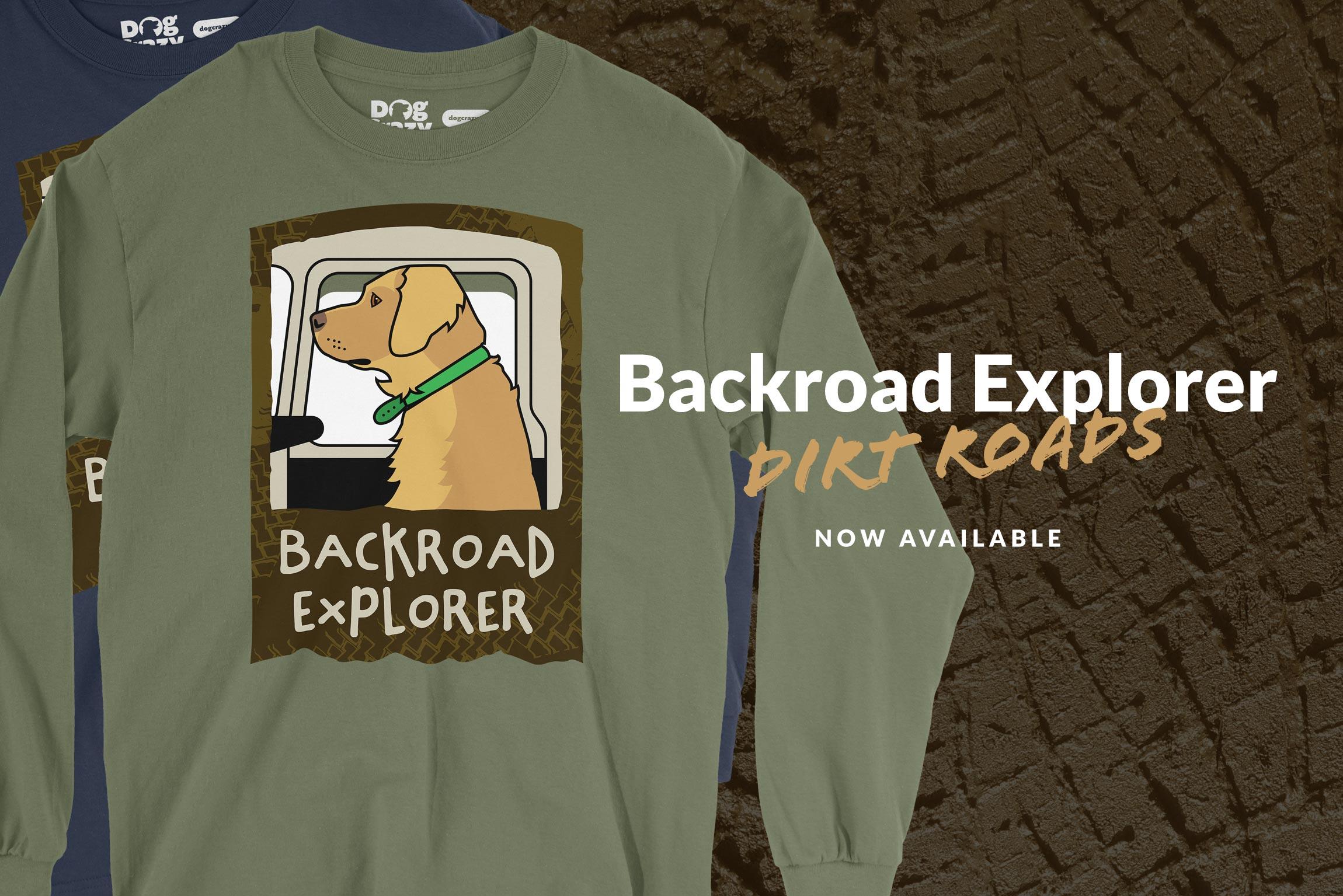 Dog Crazy Long Sleeve Adventure Shirts