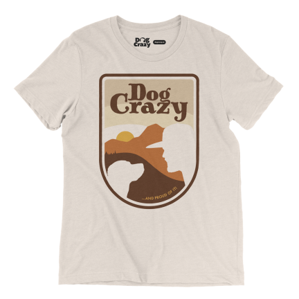 mans best friend t-shirt - dog crazy