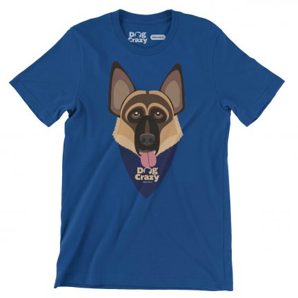 german shepard lovers t-shirt by dog crazy